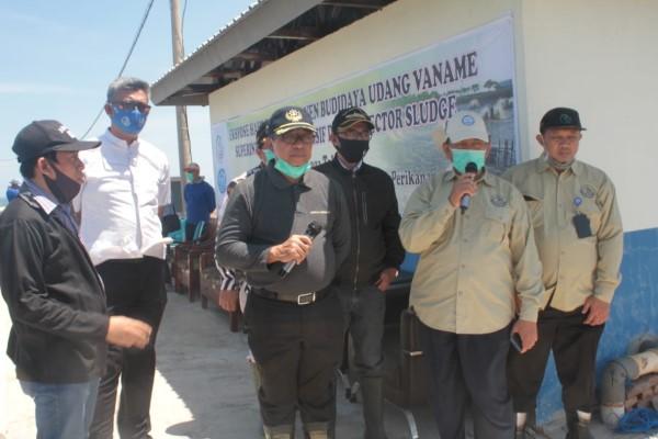 Kementerian Kelautan dan Perikanan (KKP), Mengembangkan Budidaya Tambak Udang Super Intensif Yang Terkendali