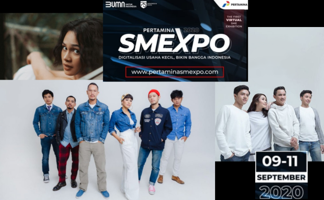 Pertamina SMEXPO 2020 Akan Diramaikan Oleh Deretan Artis Ibukota