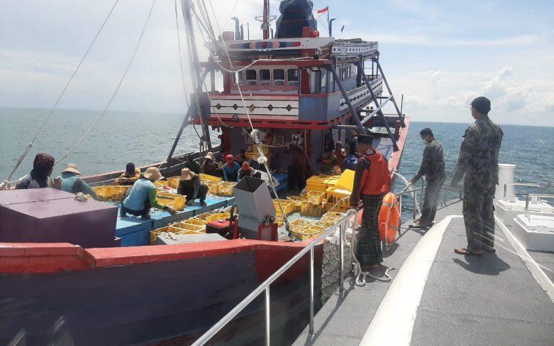 KKP Tindak Tegas Empat Kapal Cantrang di Selat Makassar
