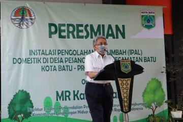 KLHK Resmikan IPAL Komunal Domestik Hasil Kerja Bersama Warga di Batu, Jawa Timur