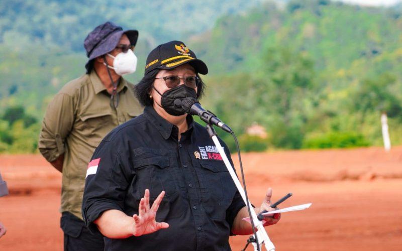 Menteri LHK: Tanam Pohon Bangun Jiwa Korsa dan Asah Kepekaan Rimbawan