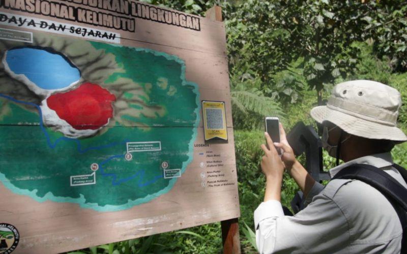 Pengembangan QR Code Interpretasi di TN Kelimutu