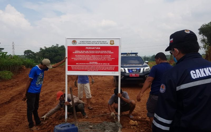 Tim Gabungan Gakkum Hentikan Tambang Galian C illegal di Purwakarta
