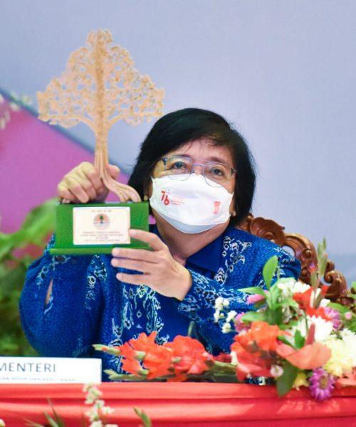 KLHK Berikan Penghargaan Pemenang Lomba dan Apresiasi Teladan Wana Lestari Tahun 2021